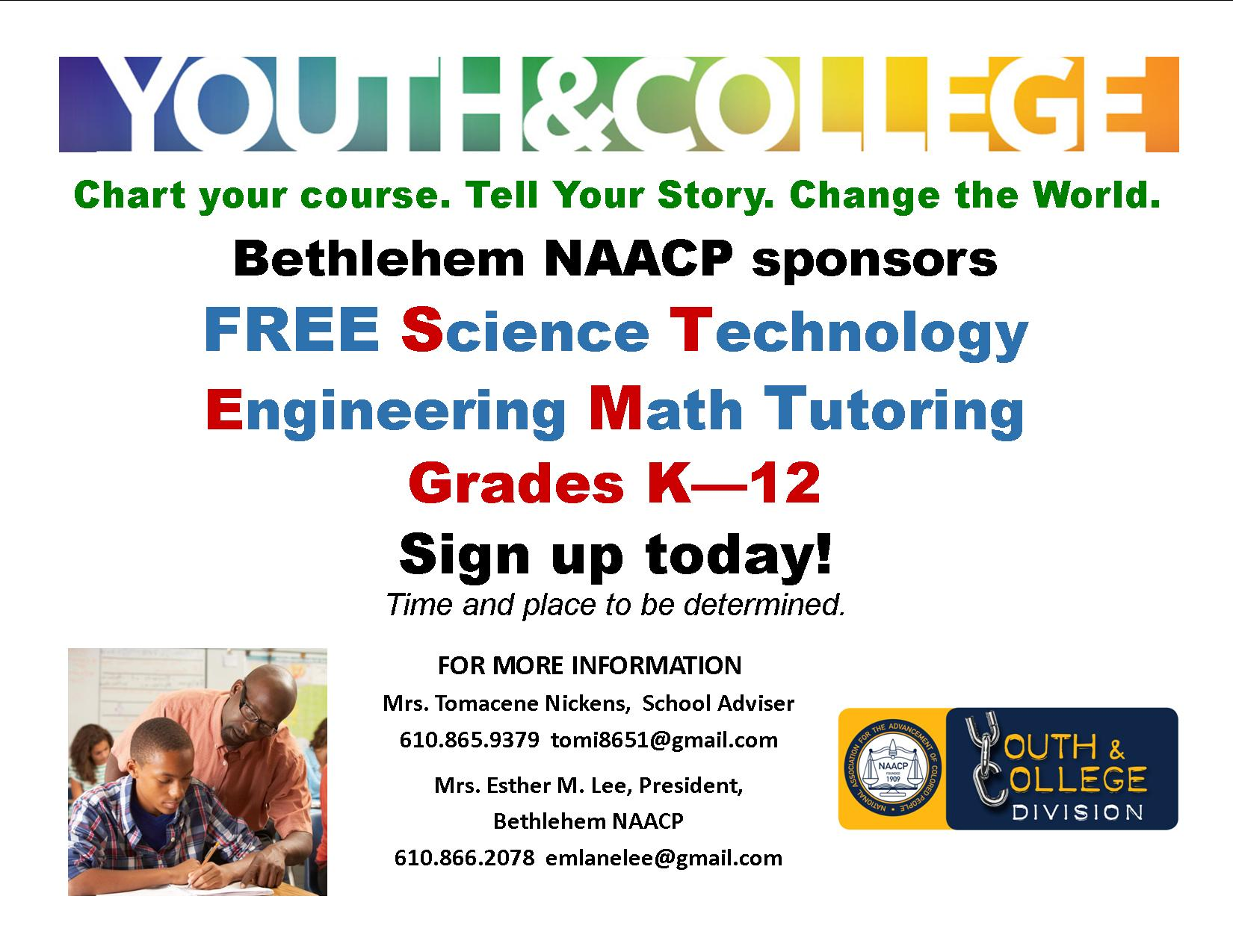 *NEW* Tutoring for K – 12 grade students